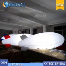 Lighted Air Helium Balloon LED Publicité gonflable RC Blimp Airship