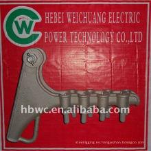 abrazaderas de tensión de hardware de línea eléctrica