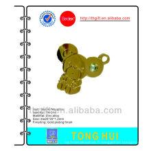 Gold Bear cute tag associe les cordes de téléphone mobile