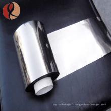 Chine fournisseur Gr5 ELI Gr5 Gr23 feuille d'alliage de titane coût par kg