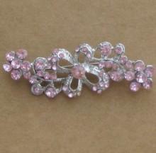 diamante crystal rhinestone brooches