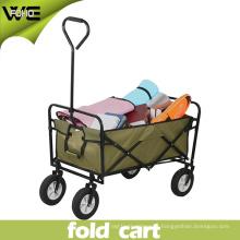 Carro de compras portátil del carro de mano del supermercado con las ruedas