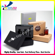 OEM Design tampa e base perfume coleção embalagem caixa