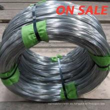 BWG8-BWG24 electro alambre de hierro galvanizado en caliente