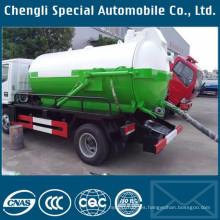 Buen rendimiento 3000L vacío aguas residuales tanque succión carro