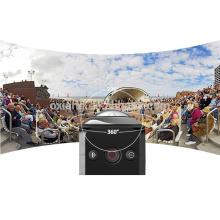 Mini cámara de acción deportiva de 360 grados Mini cámara de video 1440P / 30fps con control remoto y videocámara con cámara WIFI 12MP / 360VR
