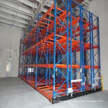 Almacenamiento en estanterías certificadas ISO9001, CE y AS4084, estanterías móviles de acero