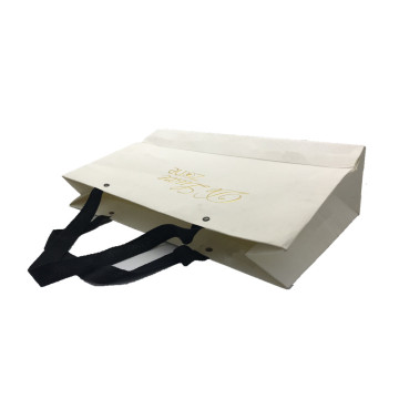 Embossing paper gift shopping bag