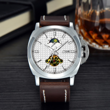 2016 custom fashion superior logo alarm chronograph mens watch