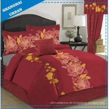 3 Stück Baumwolle Polyester Druck Bettbezug (Set)