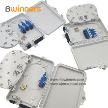 Boîte de terminaison de fibre optique en plastique à 6 noyaux
