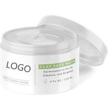 Premium Bentonite Clay Mask Collagen Acne Blackheads Oily Skin Face Mask