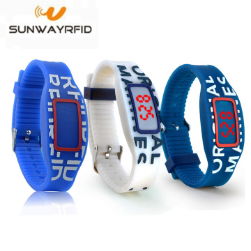 125KHZ Smart Colorful Silicone Rfid polsbandjes EM4200