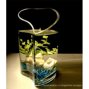 Дешевые стеклянные самоцветы для вазе-наполнителя из Китая Поставщик