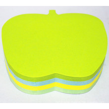High Quality Die Cut Apple Shape Sticky Notes Dh-1202