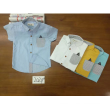 European style boys clothing cotton T-shirts kids boutique clothing online shopping