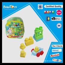 Brinquedo educativo do brinquedo placa do bloco