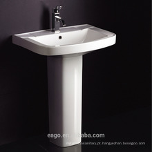 EAGO Single hole Ceramic pedestal wash basin BD101E