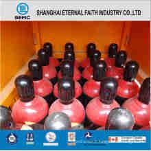 Cylindre à gaz à haute pression en acier sans couture industriel (ISO9809 219-40-150)