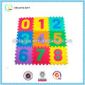 colorful EVA number mat/toy for kids or baby