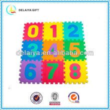 красочный EVA количество коврик/игрушки для детей или ребенка
