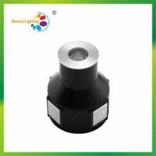 Mini 1W aço inoxidável IP68 LED Inground lâmpada, luz subaquática