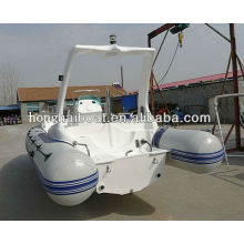 10 persons fiberglass inflatable yachts