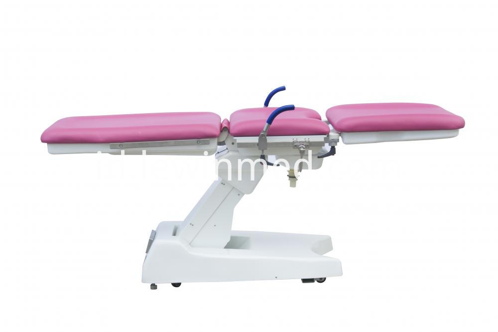 Gynecological examination bed