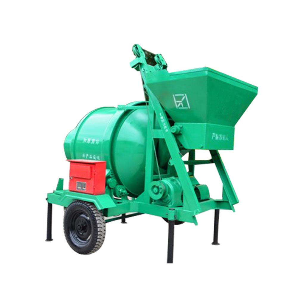 electric JZC350B concrete drum mixer