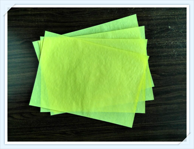 yellow parchment paper