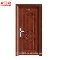 A porta principal da casa de aço da porta da segurança projeta portas de entrada de aço