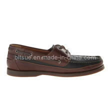 Cheap Brown Leather Boat Shoes for Factory