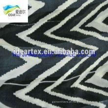 Tecido de listras padrão impresso