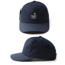 High Quality Sample Free Plain Distressed Foldable Baseball Caps