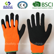 Nitrile Coating, Sandy Finish Safety Work Gloves (SL-NS120)
