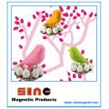 Fashion Cute Sparrow Egg Fridge Magnet