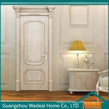Puerta interior compuesta del MDF de la chapa de madera del roble blanco