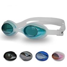 Взрослый Анти-туман силикон плавать очки с диоптриями