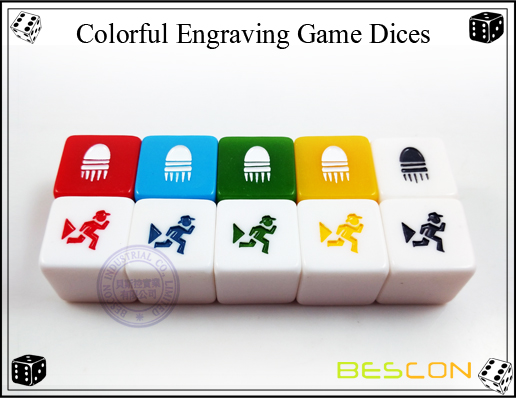 Colorful Engraving Cubes-2
