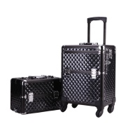 Two in one set large makeup case