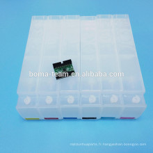 Pour la cartouche d'encre de recharge HP 91 pour traceurs HP Designjet Z6100 Z6200