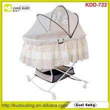 NEUER Entwurfs-Großhandelsbaby-Bassinet-bewegliche Schmetterlings-Moskitonetzabdeckung Großer Speicher-Korb-Schaukeln-Aufnahmevorrichtungs-Kind-Produkt