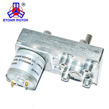 Low price flat gearbox pm dc motor dc geared motor 12v 30 rpm