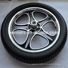 Espuma de PU preenchido 16x2.125 liga de alumínio roda de bicicleta roda