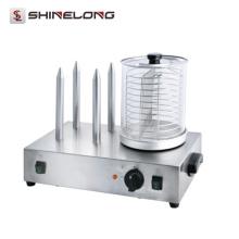 Europa-Entwurfs-Handelsautomatik-Rollen-Hotdog-Grill-Maschine
