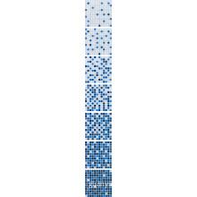 Dark Blue Gradual Change Mosaic Tile