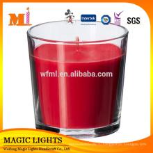 Оптовая ароматические свечи в стеклянную банку