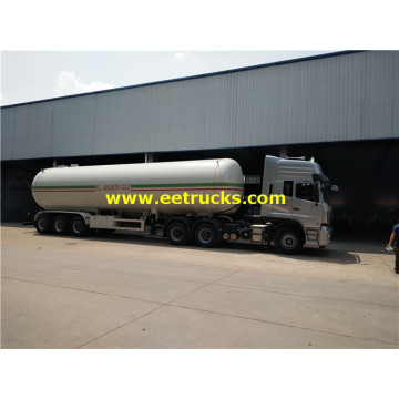 14000 Gallons 23ton LPG Gas Trailer tankers