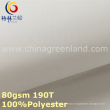 100%Polyester Pongee Dyeing Fabric for Clothes (GLLML300)