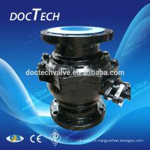 DIN Cast robinet à tournant sphérique en acier JIS 10K & 20 K